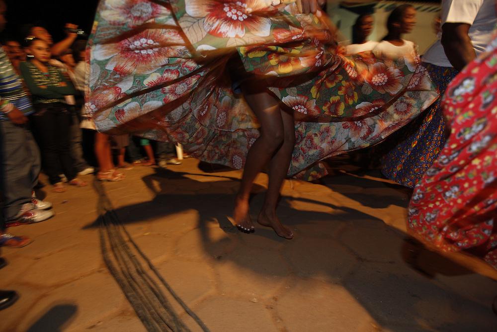 Chapada do Norte_MG, Brasil.<br /> <br /> Festa de Nossa Senhora do Rosario dos Pretos. Na foto, a Congada de Nossa Senhora do Rosario durante o encontro dos grupos folcloricos na Chapada do Norte, Minas Gerais.<br /> <br /> Nossa Senhora do Rosario dos Pretos party. In this photo, Congada de Nossa Senhora do Rosario during the meeting of folklore groups in Chapada do Norte, Brazil.<br /> <br /> Foto: LEO DRUMOND / NITRO