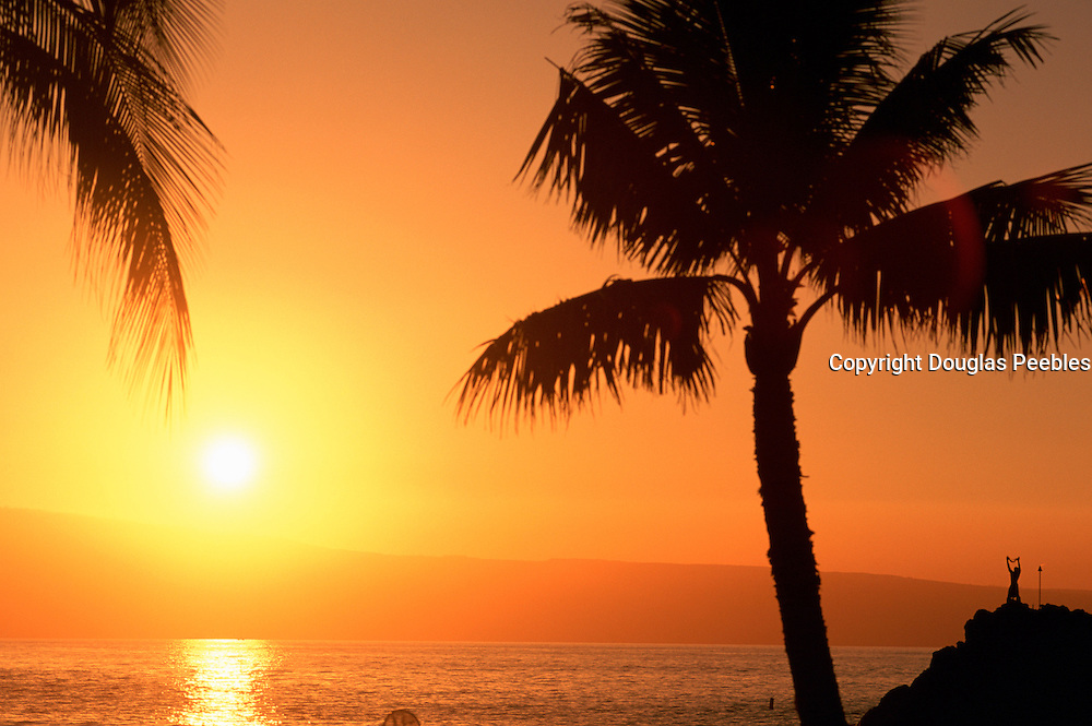 Cliff Diver, Kaanapali, Maui, Hawaii, USA<br />
