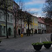 Vilnius Old Town, Pilies street, Vilnius, Lithuania