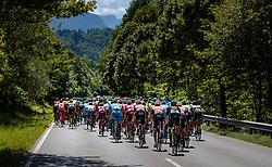 06.07.2017, Kitzbühel, AUT, Ö-Tour, Österreich Radrundfahrt 2017, 4. Etappe von Salzburg - Kitzbüheler Horn (82,7 km/BAK), im Bild Feature, Peloton // Feature, Peloton during the 4th stage from Salzburg - Kitzbueheler Horn (82,7 km/BAK) of 2017 Tour of Austria. Kitzbühel, Austria on 2017/07/06. EXPA Pictures © 2017, PhotoCredit: EXPA/ JFK
