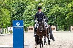 FINKEN Holga (GER), Gino 642<br /> Redefin - Pferdefestival 2019<br /> NÜRNBERGER Burg Pokal<br /> Qualifikation zur Finalqualifikation<br /> St-Georg Special: 7-9-jährige Pferde<br /> 25. Mai 2019<br /> © www.sportfotos-lafrentz.de/Stefan Lafrentz