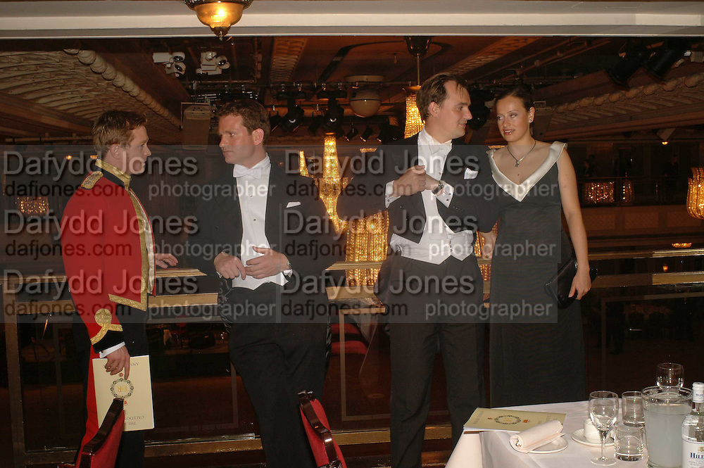 WILLIAM SNOOK, DOUGLAS OPPENHEIM, NICHOLAS FRANKOPAN. The Royal Caledonian charity Ball 2006.Grosvenor House. London. 5 May 2006. . ONE TIME USE ONLY - DO NOT ARCHIVE  © Copyright Photograph by Dafydd Jones 66 Stockwell Park Rd. London SW9 0DA Tel 020 7733 0108 www.dafjones.com