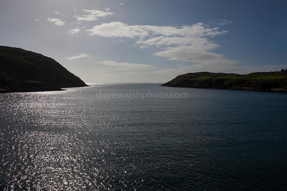 South Harbour, Cape Clear Island, Ireland's most southerly inhabited island, off the coast of Co. Cork