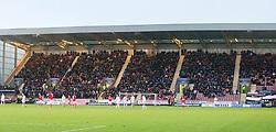 Falkirk's fans. Dunfermline 1 v 1 Falkirk, Scottish Championship game played 26/12/2016 at East End Park.