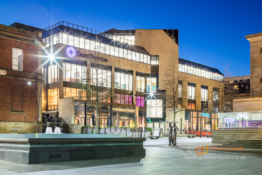 Architectural photography commission - Sheffield city centre
