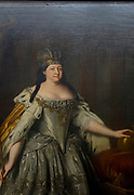 Catherine II Czarina of Russia Painting on display at the State Tretyakov Gallery (GTG) an art gallery in Moscow, Russia, the foremost depository of Russian fine art in the world.
