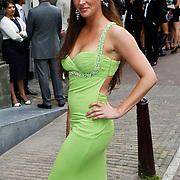 NLD/Amsterdam/20100721 - Huwelijk van Kim Feesntra en DJ Michael Mendoza, Sylvia Geersen