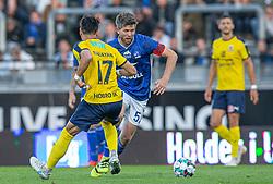 Martin Ørnskov (Lyngby Boldklub) under kampen i 3F Superligaen mellem Lyngby Boldklub og Hobro IK den 20. juli 2020 på Lyngby Stadion (Foto: Claus Birch).