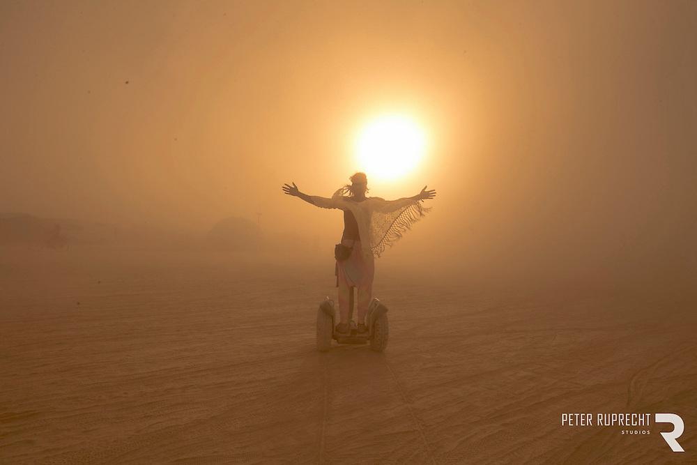 Burning Man - Photograph - Peter Ruprecht