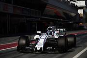 March 7-10, 2017: Circuit de Catalunya. Lance Stroll, Williams Martini Racing, FW40