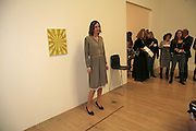 Tomma Abts, Turner Prize 2006. Tate Gallery. London. 4 December 2006. ONE TIME USE ONLY - DO NOT ARCHIVE  © Copyright Photograph by Dafydd Jones 248 CLAPHAM PARK RD. LONDON SW90PZ.  Tel 020 7733 0108 www.dafjones.com