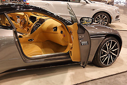 09 February 2017: Aston Martin DB11<br /> <br /> First staged in 1901, the Chicago Auto Show is the largest auto show in North America and has been held more times than any other auto exposition on the continent.  It has been  presented by the Chicago Automobile Trade Association (CATA) since 1935.  It is held at McCormick Place, Chicago Illinois<br /> #CAS17