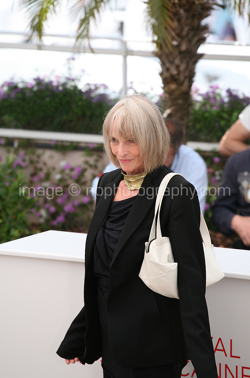 Actress Edith Scob at the Holy Motors photocall at the 65th Cannes Film Festival France. Wednesday 23rd May 2012 in Cannes Film Festival, France.
