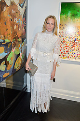 ALICE NAYLOR-LEYLAND at a party to celebrate the launch of the Maddox Gallery at 9 Maddox Street, London on 3rd December 2015.