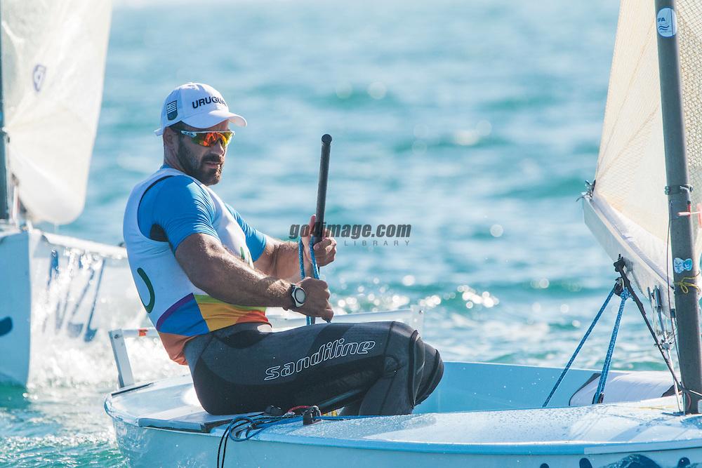 Finn URU Alejandro Foglia URUAF9<br /> <br /> 2016 Olympic Games <br /> Rio de Janeiro