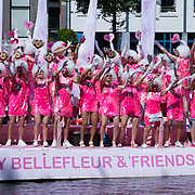 NLD/Amsterdam//20170805 - Gay Pride 2017, Boot Dolly Bellefleur & Friends