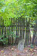 Fence near the Polish National Forest.  Zawady   Central Poland