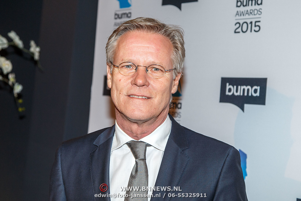NLD/Hilversum/20150217 - Inloop Buma Awards 2015, Fons de Poel