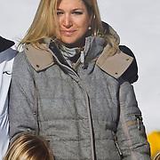 AUD/Lech/20110219 - Fotosessie Nederlandse Koninklijke Familie 2011 op wintersport in Lech, partner Maxima