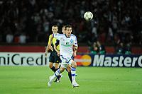 FOOTBALL - UEFA CHAMPIONS LEAGUE 2012/2013 - GROUP STAGE - GROUP A - PARIS SAINT GERMAIN v DYNAMO KIEV - 18/09/2012 - PHOTO JEAN MARIE HERVIO / REGAMEDIA / DPPI - DANILO SILVA (KIEV)