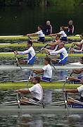 2002 FISA World Cup. Hazewinkel. BEL.       Friday  14/06/2002     .email images@Intersport-images.com.[Mandatory Credit: Peter Spurrier/Intersport Images]  .                                 /06/2002.Rowing    .ITA M2X. Rossano GALTAROSSA (b) , Alessio SARTORI (s) Rowing, FISA WC.Hazenwinkel, BEL
