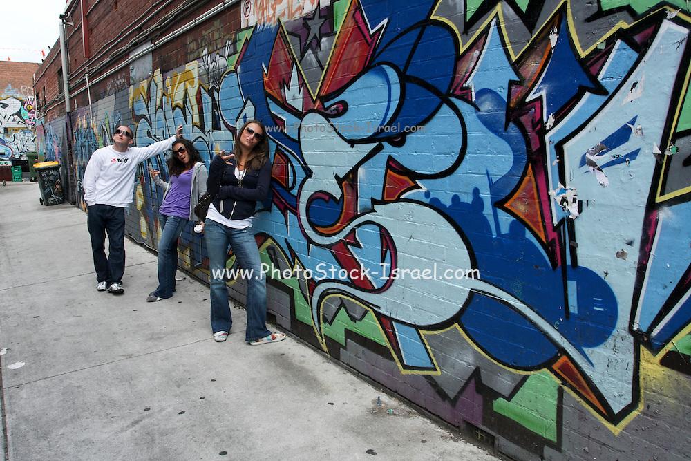 Australia, Melbourne street art graffiti