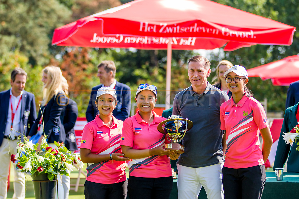 21-07-2018 Pictures of the final day of the Zwitserleven Dutch Junior Open at the Toxandria Golf Club in The Netherlands.21-07-2018 Pictures of the final day of the Zwitserleven Dutch Junior Open at the Toxandria Golf Club in The Netherlands.  Nations Cup Team Girls winners: Thailand