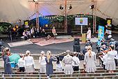 Koningin Maxima bij viering muziekonderwijs in Soest
