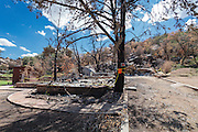 Gift Shop at the Shrine of St. Joseph in Yarnell, Arizona, destroyed in the Yarnell Hill Fire, July, 2013.