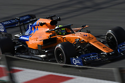 February 19, 2019 - Barcelona, Catalonia, Spain - English driver Lando Norris of English team McLaren F1 Team driving his single-seater MCL34 during Barcelona winter test in Catalunya Circuit in Montmelo, Spain  (Credit Image: © Andrea Diodato/NurPhoto via ZUMA Press)