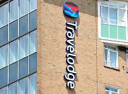 File photo dated 31/7/2014 of a sign on a Travelodge hotel, as the hotel group is creating 1,000 jobs in the coming months, ranging from managers and receptionists to plumbers and electricians.