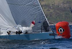 Clyde Cruising Club's Scottish Series 2019<br /> 24th-27th May, Tarbert, Loch Fyne, Scotland<br /> <br /> Day 1, GBR7737R, Aurora, CCC, Corby 37<br /> <br /> Credit: Marc Turner / CCC