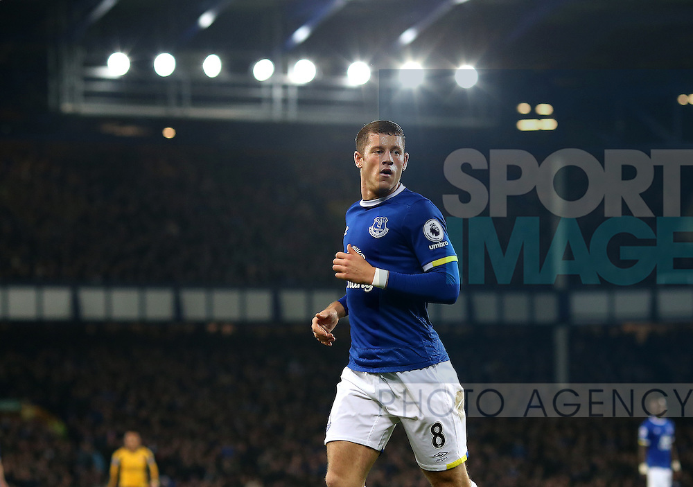 Ross Barkley of Everton during the English Premier League match at Goodison Park Stadium, Liverpool. Picture date: December 13th, 2016. Pic Simon Bellis/Sportimage
