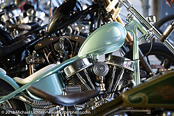 The special Born Free bike show display at the Harley-Davidson Museum, where the multi-acre campus acted as the central rally point during the Harley-Davidson 115th Anniversary Celebration event. Milwaukee, WI. USA. Saturday September 1, 2018. Photography ©2018 Michael Lichter.