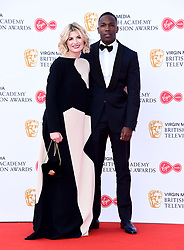 Jodie Whittaker and Tosin Cole attending the Virgin Media BAFTA TV awards, held at the Royal Festival Hall in London.