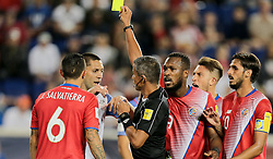 September 1, 2017 - Harrison, NJ, USA - Harrison, N.J. - Friday September 01, 2017:   Clint Dempsey, John Pitti during a 2017 FIFA World Cup Qualifying (WCQ) round match between the men's national teams of the United States (USA) and Costa Rica (CRC) at Red Bull Arena. (Credit Image: © John Dorton/ISIPhotos via ZUMA Wire)