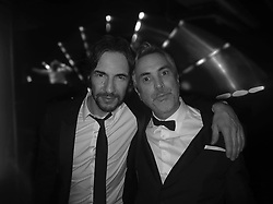 """Thomas Hayo releases a photo on Instagram with the following caption: """"Felicidades Amigo!\n#congrats @alfonsocuaron\n#whatanight #oscars2019 #latenighttales @romacuaron"""". Photo Credit: Instagram *** No USA Distribution *** For Editorial Use Only *** Not to be Published in Books or Photo Books ***  Please note: Fees charged by the agency are for the agency's services only, and do not, nor are they intended to, convey to the user any ownership of Copyright or License in the material. The agency does not claim any ownership including but not limited to Copyright or License in the attached material. By publishing this material you expressly agree to indemnify and to hold the agency and its directors, shareholders and employees harmless from any loss, claims, damages, demands, expenses (including legal fees), or any causes of action or allegation against the agency arising out of or connected in any way with publication of the material."""