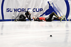 February 9, 2019 - Torino, Italia - Foto LaPresse/Nicolò Campo .9/02/2019 Torino (Italia) .Sport.ISU World Cup Short Track Torino - Ladies 1500 meters Semifinals .Nella foto: Yuki Kikuchi, Yihan Guo..Photo LaPresse/Nicolò Campo .February 9, 2019 Turin (Italy) .Sport.ISU World Cup Short Track Turin - Ladies 1500 meters Semifinals.In the picture: Yuki Kikuchi, Yihan Guo (Credit Image: © Nicolò Campo/Lapresse via ZUMA Press)