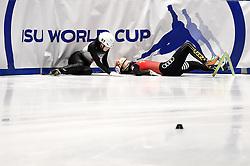 February 9, 2019 - Torino, Italia - Foto LaPresse/Nicolò Campo .9/02/2019 Torino (Italia) .Sport.ISU World Cup Short Track Torino - Ladies 1500 meters Semifinals .Nella foto: Yuki Kikuchi, Yihan Guo..Photo LaPresse/Nicolò Campo .February 9, 2019 Turin (Italy) .Sport.ISU World Cup Short Track Turin - Ladies 1500 meters Semifinals.In the picture: Yuki Kikuchi, Yihan Guo (Credit Image: © Nicolò Campo/Lapresse via ZUMA Press)