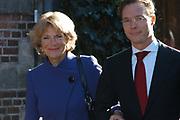 Zijne Hoogheid Prins Floris van Oranje Nassau, van Vollenhoven en mevrouw mr. A.L.A.M. Söhngen zijn donderdag 20 oktober in het stadhuis van Naarden in het burgelijk huwelijk getreden. De prins is de jongste zoon van Prinses Magriet en Pieter van Vollenhoven.<br /> <br /> 20OCT, 2005 - Civil Wedding Prince Floris and Aimée Söhngen. <br /> <br /> Civil Wedding Prince Floris and Aimée Söhngen in Naarden. The Prince is the youngest son of Princess Margriet, Queen Beatrix's sister, and Pieter van Vollenhoven. <br /> <br /> Op de foto / On the photo;<br /> <br /> <br /> Zijne Koninklijke Hoogheid Prins Jaime de Bourbon de Parme en Hare Koninklijke Hoogheid Prinses Carolina de Bourbon de Parme<br /> <br /> His royal highness prince Jaime the bourbon the Parme and her royal highness princess Carolina the bourbon the Parme
