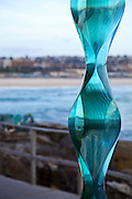 Sculpture By The Sea, Bondi, Sydney..The world's largest annual free-to-the-public outdoor sculpture exhibition, Sculpture by the Sea, Bondi  was launched today 18.10.12..Toshio Lezumi