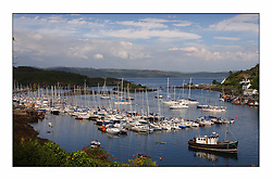 General View at the Bell Lawrie Yachting Series in Tarbert Loch Fyne..
