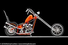 Travis Stuckey S&S Panhead Chopper