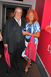 SIR WILLIAM & LADY McALPINE at a 2nd private view of the Pavilion of Art & Design London 2011 held in Berkeley Square, London on 11th October 2011.