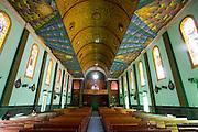 Castelo_ES, Brasil...Interior da igreja Matriz Nossa Senhora da Penha em Castelo...Inside of Mother church Nossa Senhora da Penha in Castelo...Foto: LEO DRUMOND / NITRO