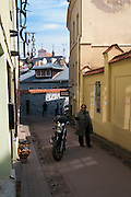 View of Vilnius/Literatu Gatve, Spring 2011