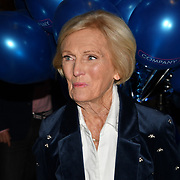 Mary Berry attend the Company - Opening Night at Gielgud Theatre, London, UK. 17 October 2018.