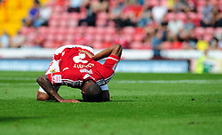 Bristol City's Marvin Elliott - Photo mandatory by-line: Joseph Meredith / JMPUK - 30/07/2011 - SPORT - FOOTBALL - Championship - Bristol City v West Bromwich Albion - Ashton Gate Stadium, Bristol, England