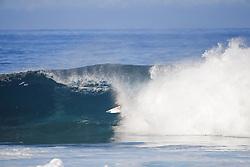 December 18, 2017 - Oahu, Hawaii, U.S. - Joel Parkinson of Australia advances to the Quarterfinals of the 2017 Billabong Pipe Masters after winning Heat 1 of Round Five at Pipe, Hawaii, USA...Billabong Pipe Masters 2017, Hawaii, USA - 18 Dec 2017 (Credit Image: © WSL via ZUMA Wire/ZUMAPRESS.com)