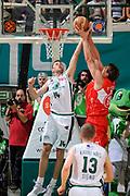 DESCRIZIONE : Siena Lega A 2008-09 Playoff Finale Gara 2 Montepaschi Siena Armani Jeans Milano<br /> GIOCATORE : Tomas Ress Denis Marconato Paolo<br /> SQUADRA : Armani Jeans Milano<br /> EVENTO : Campionato Lega A 2008-2009 <br /> GARA : Montepaschi Siena Armani Jeans Milano<br /> DATA : 12/06/2009<br /> CATEGORIA : rimbalzo<br /> SPORT : Pallacanestro <br /> AUTORE : Agenzia Ciamillo-Castoria/G.Ciamillo